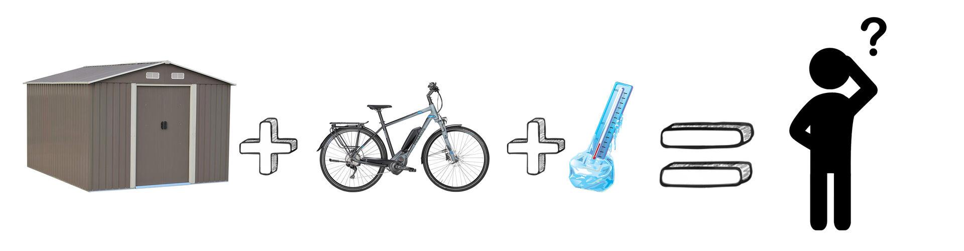 Hogyan tárold elektromos kerékpárodat télen