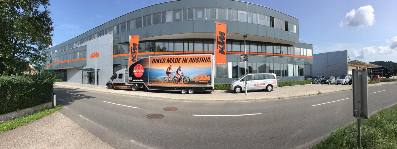 KTM központ és bicikli gyár