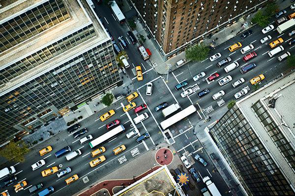 gyros közlekedés a városban