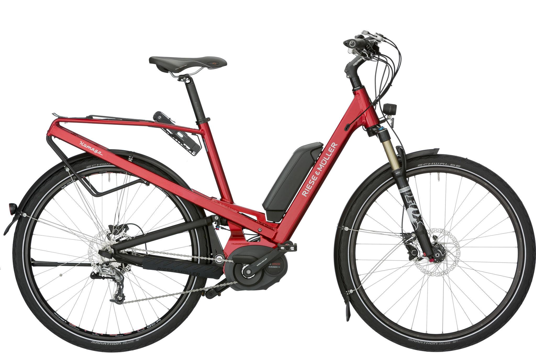 Összteleszkópos városi kerékpár