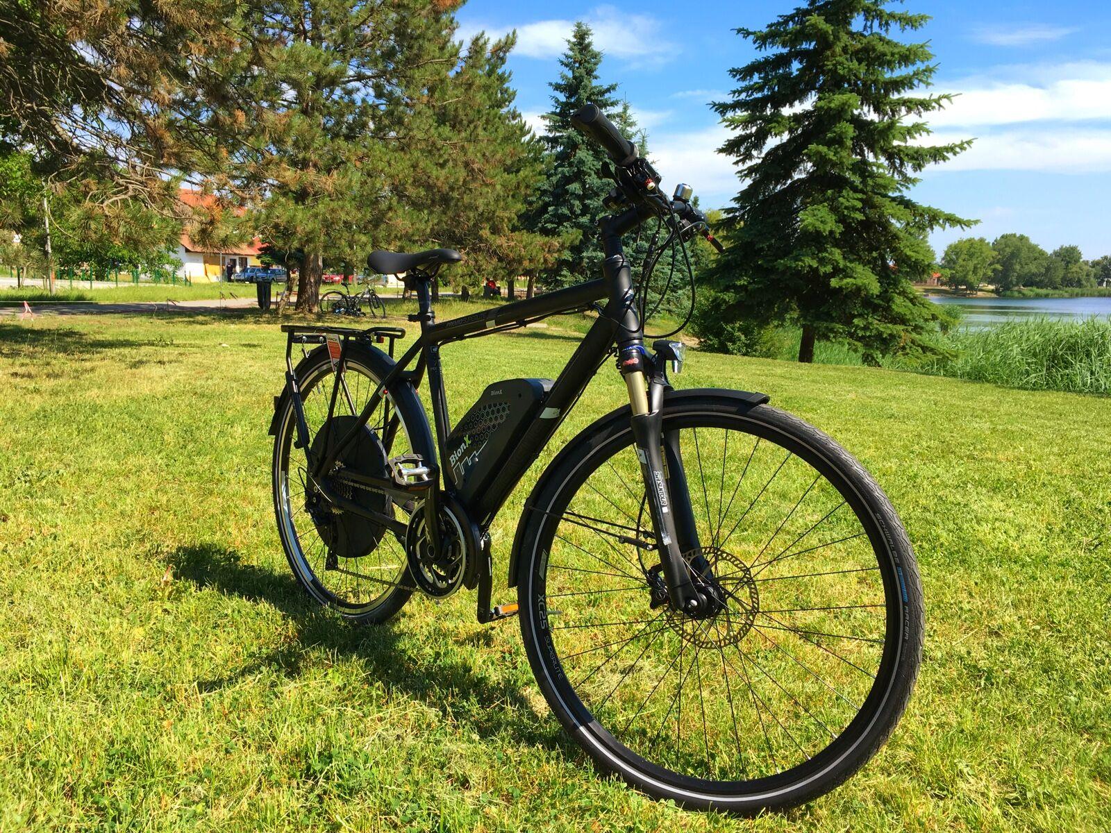 500 Wattos szettel felvértezett kerékpárunk