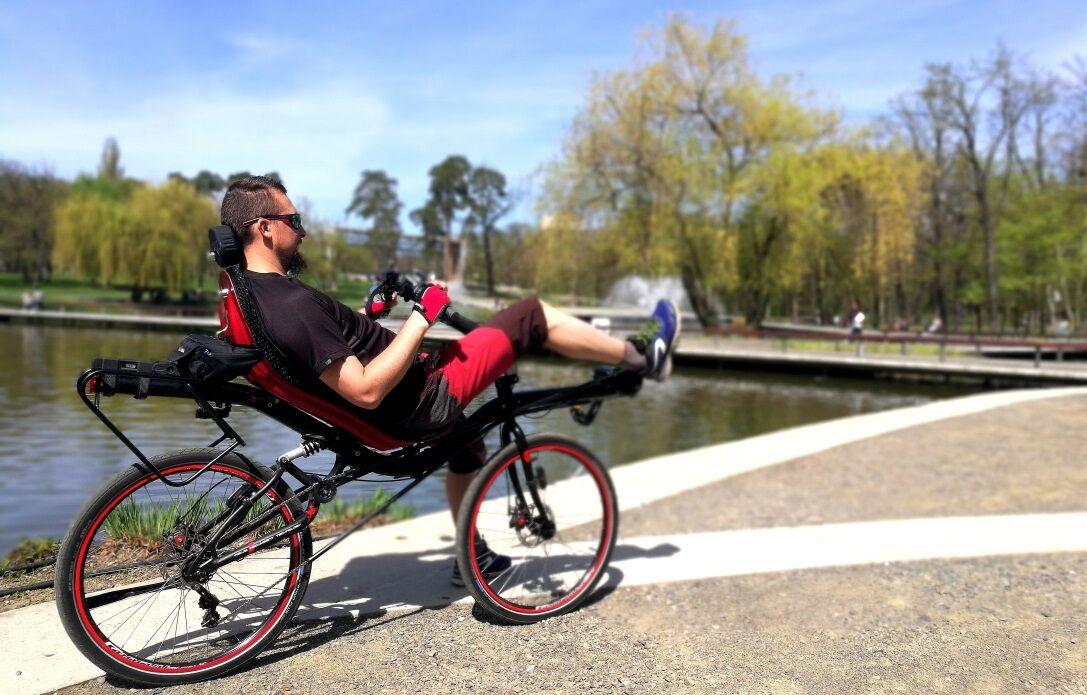 Vevői beszámoló - Azub Max Pinion fekvőkerékpár