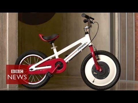Szabadon választható önegyensúlyozási lehetőséggel felszerelt kerékpár