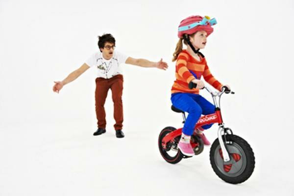 Jyrobike egyensúlyozó kerékpárja