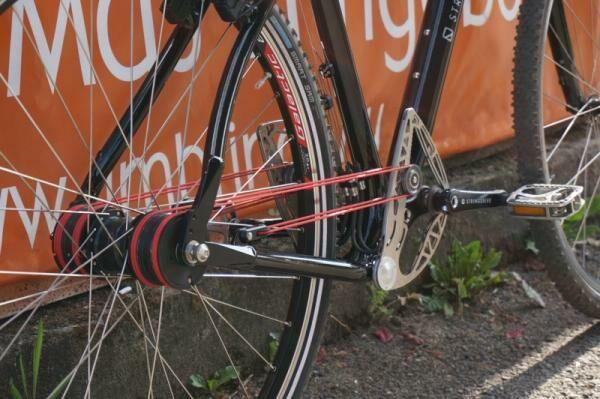 Új Stringdrive rendszer a kerékpáron