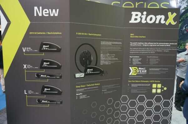 Bionx kits rendszerek