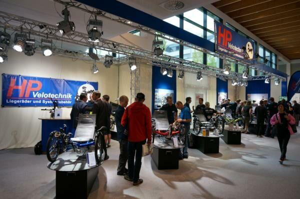 HP Velotechnik stand az Eurobikeon