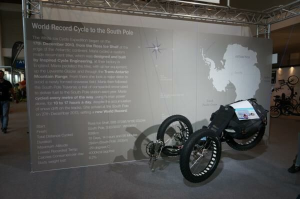 Guiness rekord ICE kerékpárral