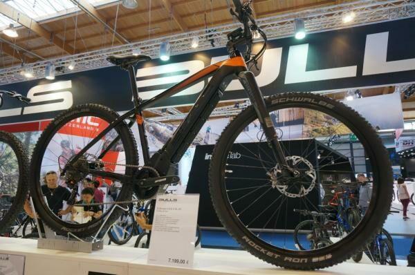 Merevfarú elektromos kerékpár a Bulls-tól