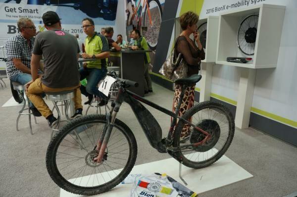 Egyre szebb kerékpárok a Bionx-tól