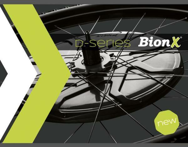 Bionx 2014-es újdonságok