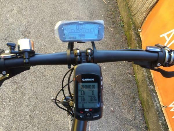 Elektromos kerékpár kijelzője