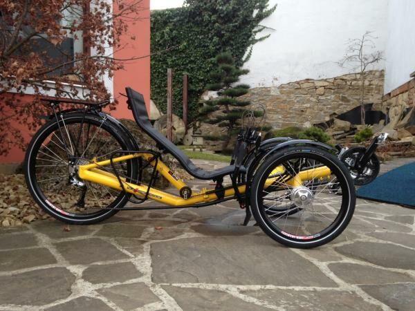 Új 26-os méretű fekvő kerékpár érkezik