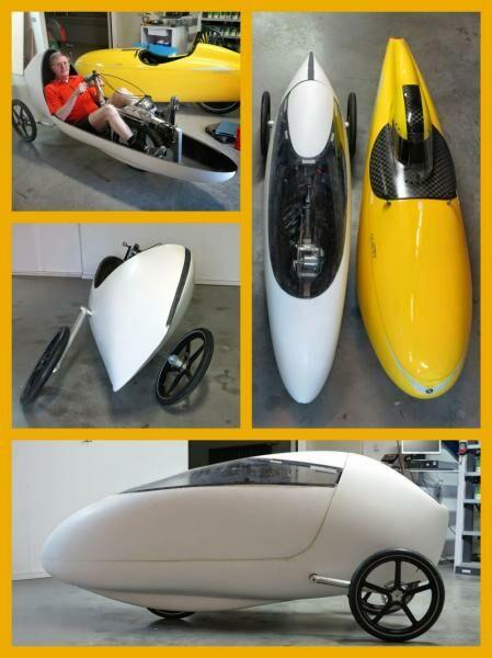 bedolos velomobil konstrukció