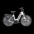 Pegasus Premio Evo 8F elektromos kerékpár fehér színben