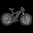 Bulls Six50 E2 elektromos kerékpár fekete-piros színben