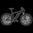Bulls Six50 E1 CX elektromos kerékpár fekete színben
