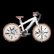 Bulls Sturmvogel Evo elektromos kerékpár fehér színben