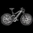 Bulls Six50 EVO TR 2 elektormos kerékpár fekete-fehér színben