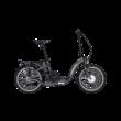 Pegasus D3E összecsukható elektromos kerékpár fekete színben