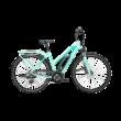 Pegasus Solero E8 elektromos kerékpár pisztácia színben