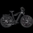 Zemo ZE 10 elektromos kerékpár férfi vázzal, fekete színben