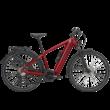 Zemo ZE 10 elektromos kerékpár férfi vázzal, piros színben