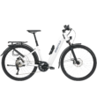 Zemo ZE 10 elektromos kerékpár unisex komfort vázzal, fehér színben