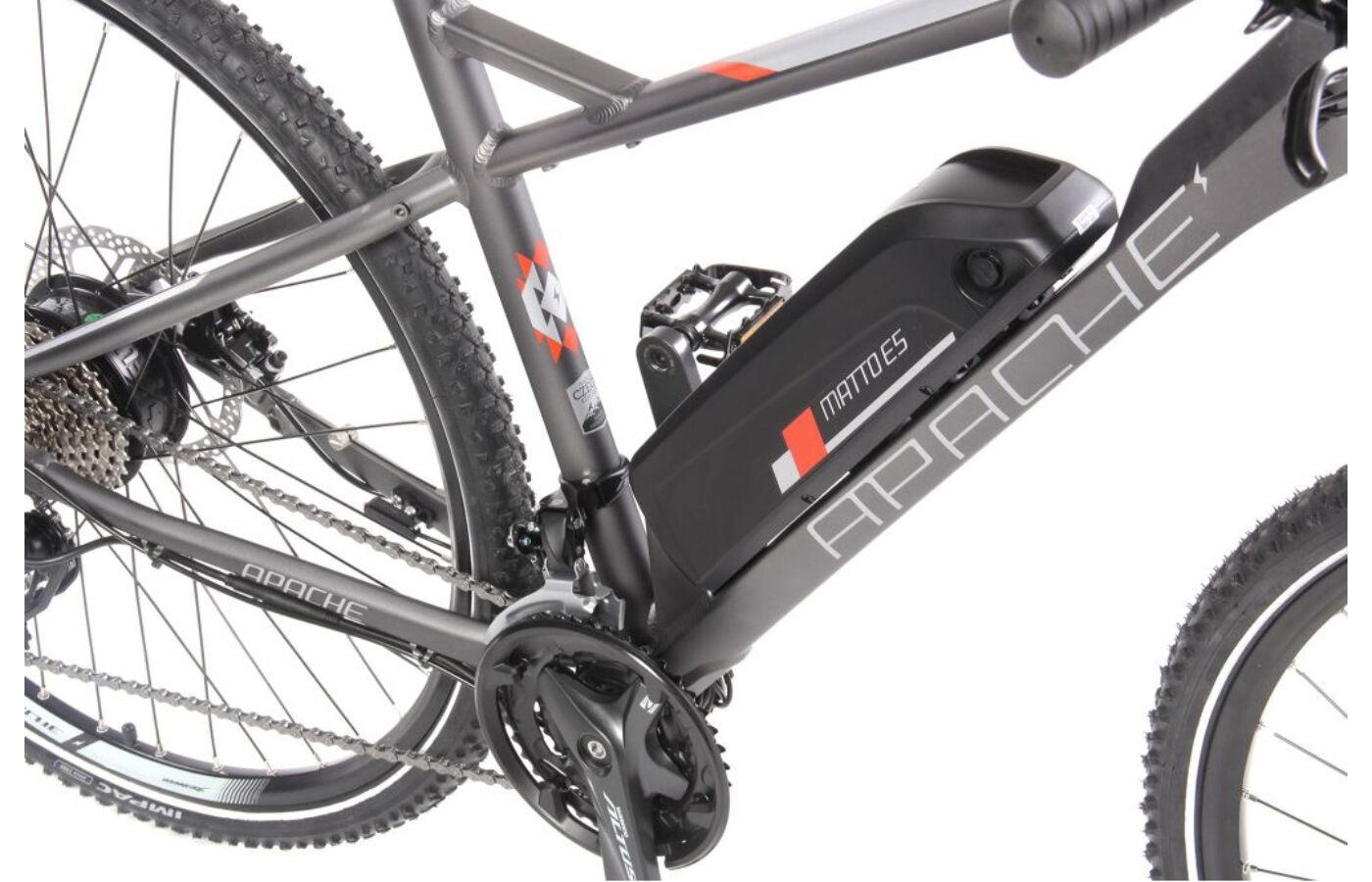 APACHE Matto E5 elektromos kerékpár - Ambringa pedelec webshop dcf8473145