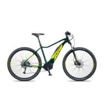 Apache Hawk Bosch Active Plus elektromos kerékpár sötétzöld színben
