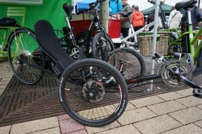 Ice Vortex fekvő kerékpár