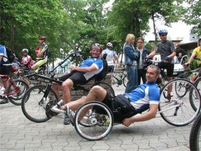 rekumbens kerékpárosok