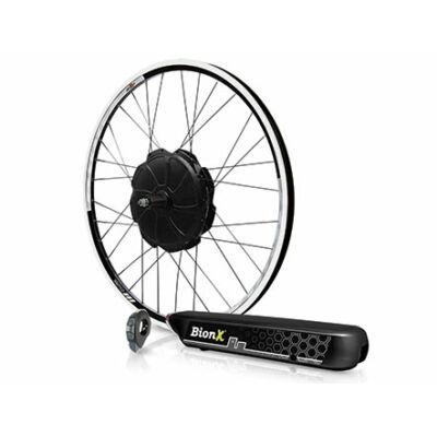 BionX P széria 423WH csomagtartó akkus elektromos kerékpár átalakító szett