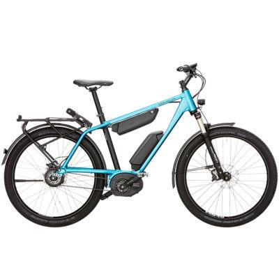 Riese und Müller Charger GH NuVinci elektromos kerékpár kék színben 1000 Wh akkumulátorral
