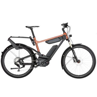 Riese und Müller Delite Touring 1000Wh elektromos kerékpár narancs színben