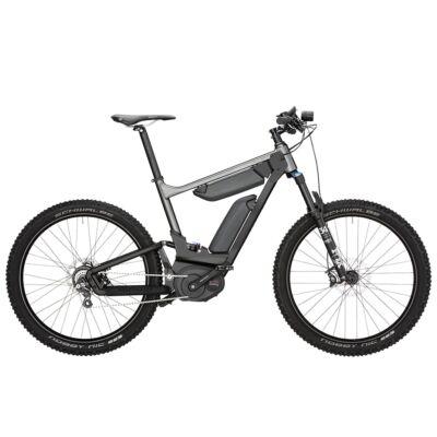 Riese und Müller Delite Mountain Rohloff elektromos kerékpár dupla akkumulátorral szürke színben