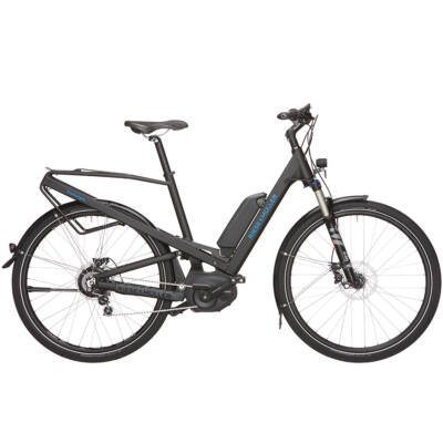 Riese und Müller Homage Nuvinci elektromos kerékpár fekete színben