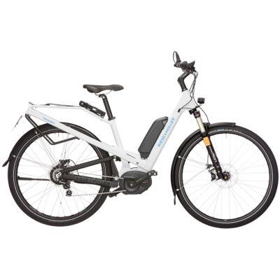 Riese und Müller Homage HS Nuvinci elektromos kerékpár fehér színben