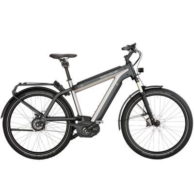 Riese und Müller Supercharger GT Nuvinci HS elektromos kerékpár szürke színben