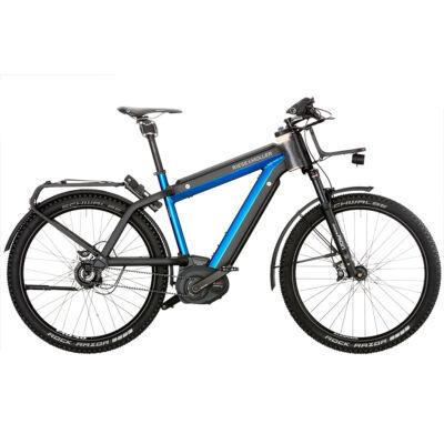 Riese und Müller Supercharger GX Rohloff HS elektromos kerékpár kék színben