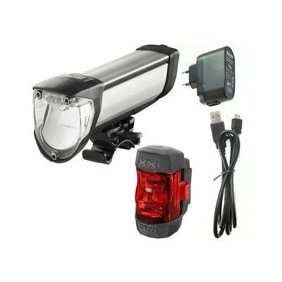 B&M IXON Core 50Lux első lámpa és IXXI hátsó lámpa