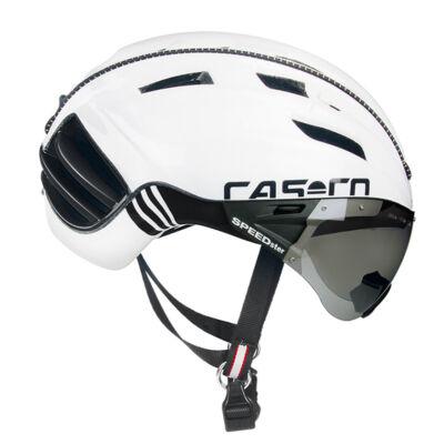 Casco Speedster-Tc plus fehér + lencse