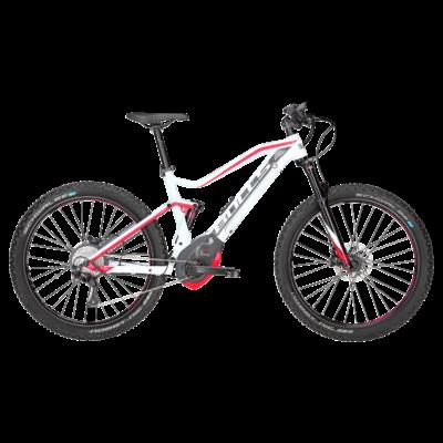 Bulls Aminga EVA TR 2 női elektromos kerékpár fehér-pink színben