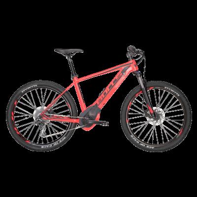 Bulls Six50 Evo 1 CX elektromos kerékpár piros színben