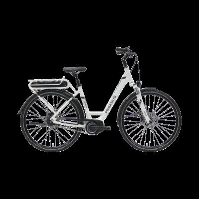 Pegasus Opero E8F Di2 elektromos kerékpár fehér színben