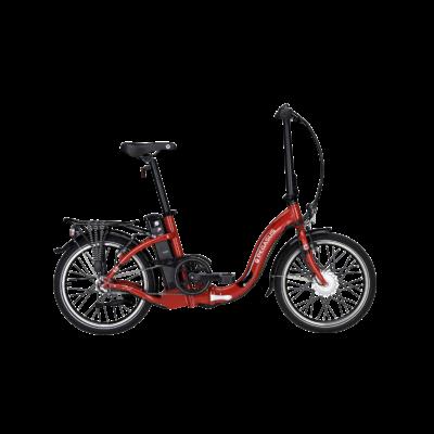 Pegasus D3E összecsukható elektromos kerékpár piros színben