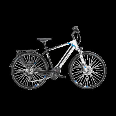 Pegasus Premio Evo 10 elektromos kerékpár fehér-fekete színben