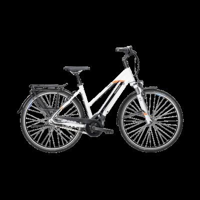 Pegasus Premio Evo 8R elektormos kerékpár fehér színben
