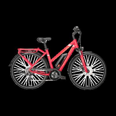 Pegasus Solero E8 elektromos kerékpár piros színben