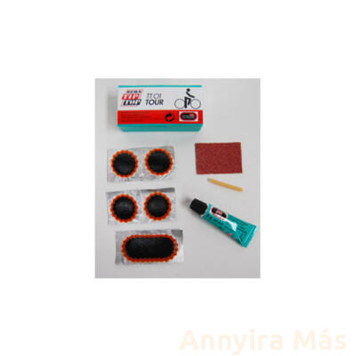 Gumijavító készlet Tip-Top  TT-01